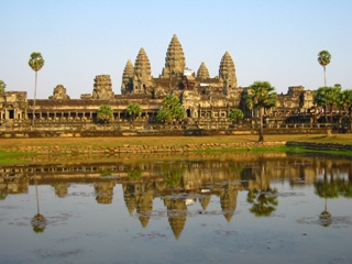 Photo of Angkor Wat.