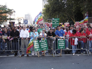 A photo of a labor rally.